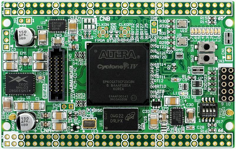 ACM-024]Altera Cyclone IV GX F484 FPGA board