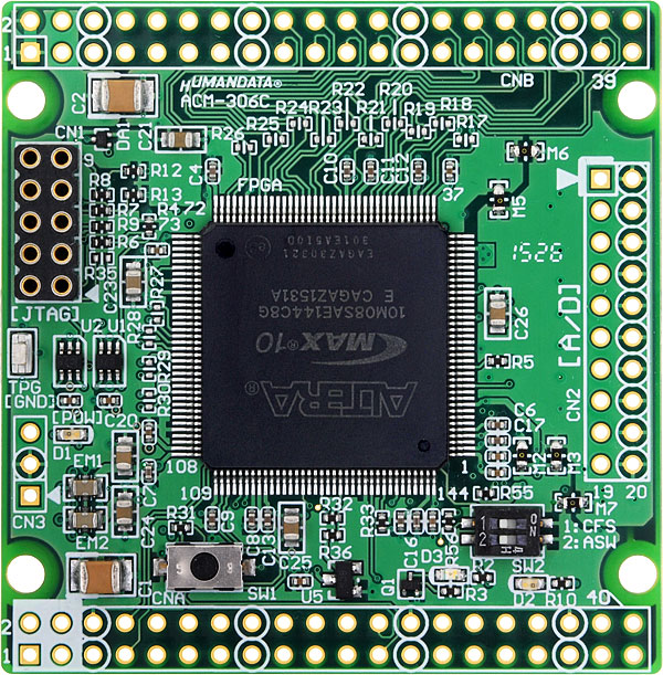 New Product :Altera MAX 10 FPGA board - ACM-306