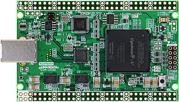 CycloneV USB-FPGA board