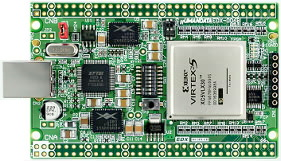 Xilinx Virtex-5 FPGA BOARD USB2.0
