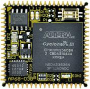 Altera cpld board Cycone III AP68-03