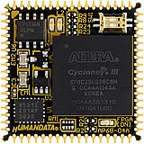 ALTERA  Cyclone III PLCC68 FPGA Module AP68-04