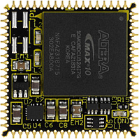 Altera  MAX 10 PLCC68 FPGA Module AP68-10