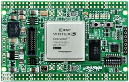 xilinx fpga board Virtex-5 XCM-017