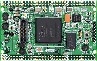 xilinx fpga board Artix-7 XCM-023
