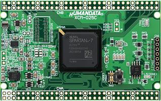 xilinx fpga board Spartan-7 XCM-025Z