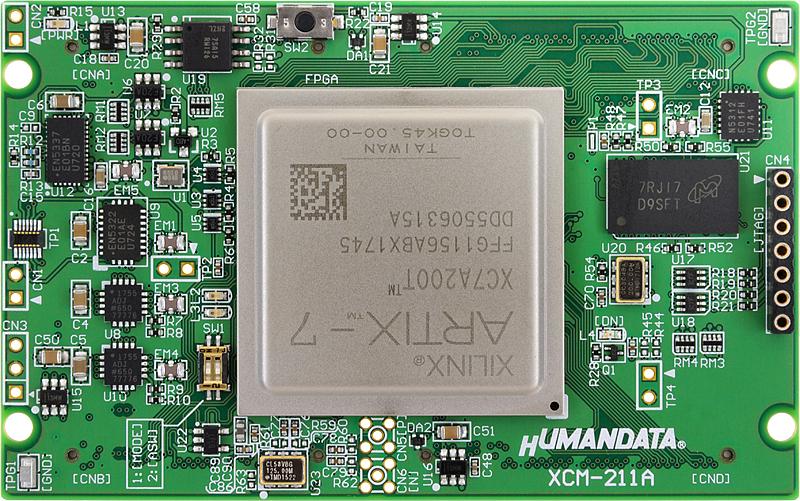 XCM-211] Xilinx Artix-7 FFG1156 FPGA board